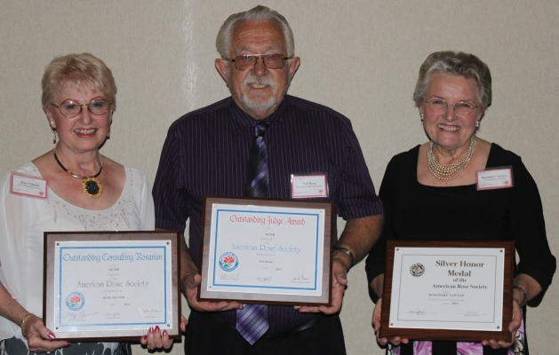 Rose Gilardi, Ted Burg, and Rosemary Sawyer